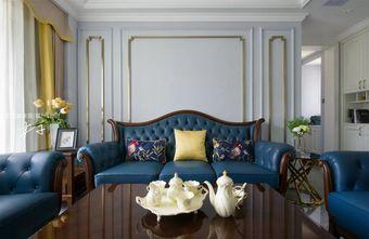 豪华型120平米复式美式风格客厅效果图