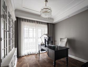 20万以上140平米三室三厅美式风格书房装修效果图
