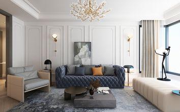 90平米公寓轻奢风格客厅装修图片大全