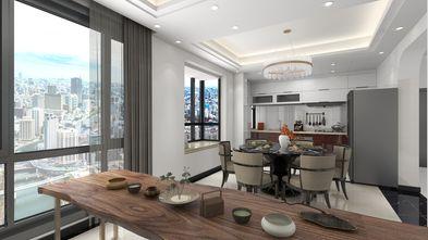 120平米三室三厅现代简约风格餐厅装修效果图