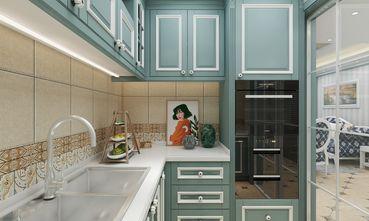 90平米三地中海风格厨房设计图