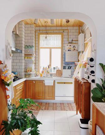 90平米一室一厅田园风格厨房装修效果图