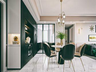 富裕型130平米三室两厅轻奢风格餐厅效果图
