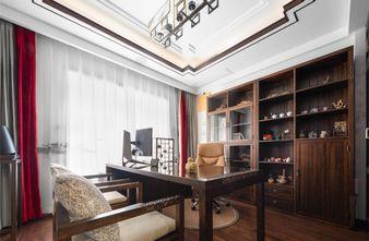 豪华型140平米四中式风格书房图片