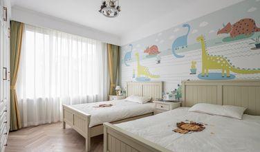 富裕型120平米三室一厅美式风格卧室图片
