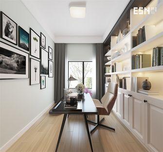 10-15万140平米三室两厅现代简约风格书房装修效果图