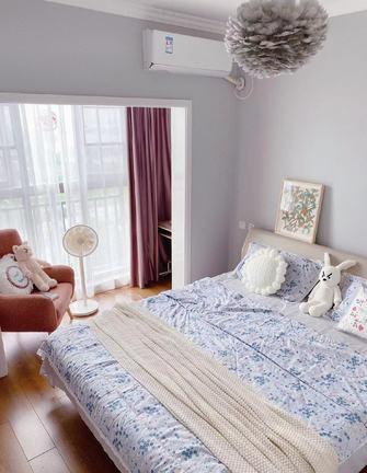 3万以下90平米三室一厅北欧风格卧室效果图