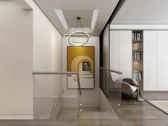 豪华型120平米一居室现代简约风格楼梯间图