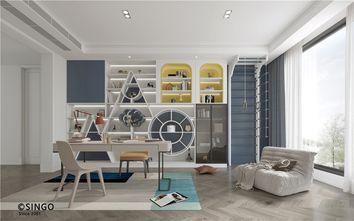 豪华型140平米别墅法式风格书房图片大全