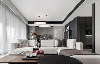 10-15万80平米三室三厅轻奢风格客厅装修效果图