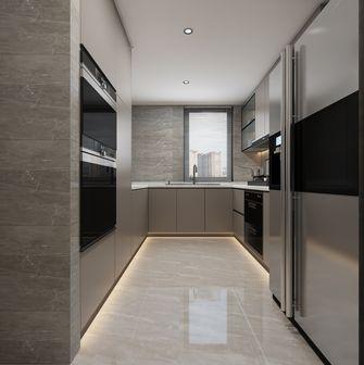 140平米四室一厅美式风格厨房图片大全