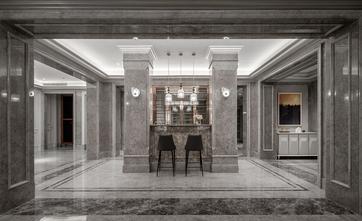 140平米别墅法式风格玄关图片大全