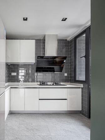 5-10万90平米现代简约风格厨房装修案例