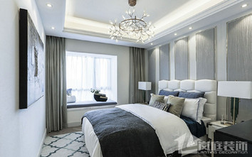 20万以上120平米四室两厅法式风格卧室装修图片大全