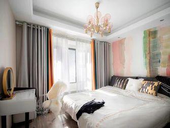 富裕型90平米三室两厅混搭风格卧室欣赏图