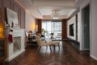 豪华型120平米三室两厅混搭风格客厅效果图