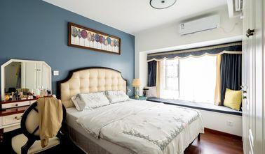 经济型70平米三室一厅美式风格卧室图片