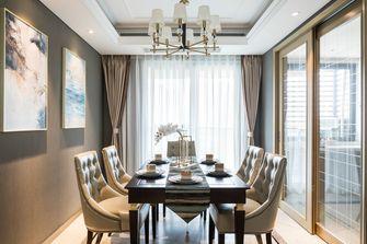 140平米四室一厅轻奢风格餐厅设计图