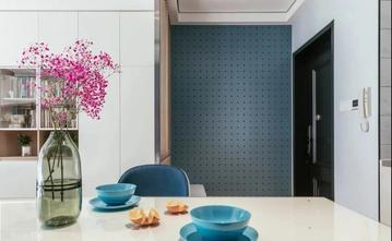 富裕型100平米三室两厅地中海风格餐厅设计图