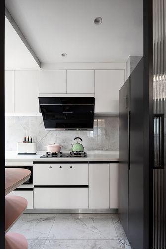 5-10万140平米三室两厅法式风格厨房欣赏图