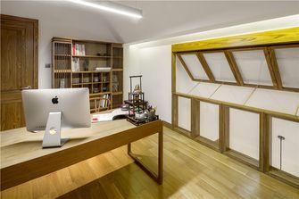 110平米复式日式风格书房图