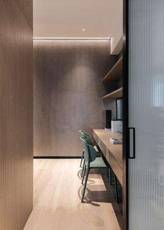 富裕型140平米三室两厅法式风格书房图片大全