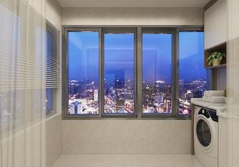 经济型50平米公寓现代简约风格阳台图片大全