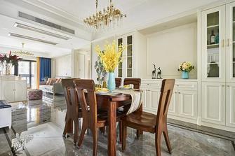 5-10万130平米三室两厅美式风格餐厅图片大全