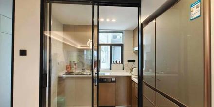 豪华型140平米四室一厅轻奢风格厨房图