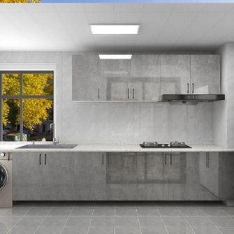 100平米三现代简约风格厨房欣赏图
