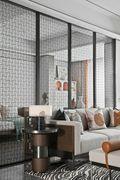 140平米三中式风格客厅图片