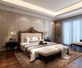 豪华型140平米三美式风格卧室图片大全