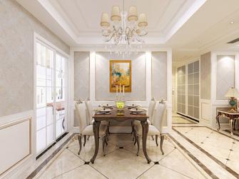 富裕型120平米欧式风格餐厅欣赏图