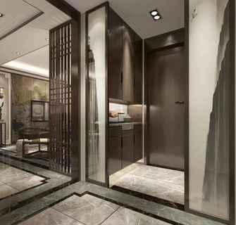 140平米四室一厅中式风格玄关装修图片大全