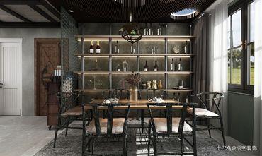 20万以上140平米四工业风风格餐厅装修图片大全