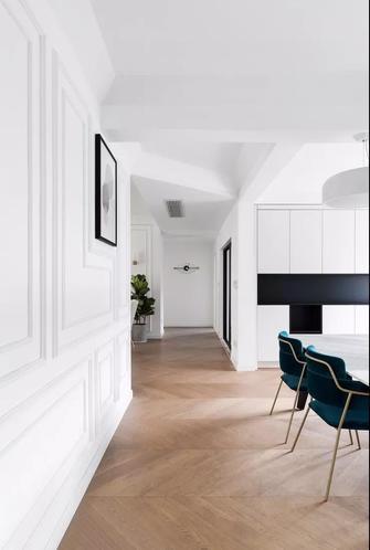 豪华型110平米三室两厅法式风格走廊装修图片大全
