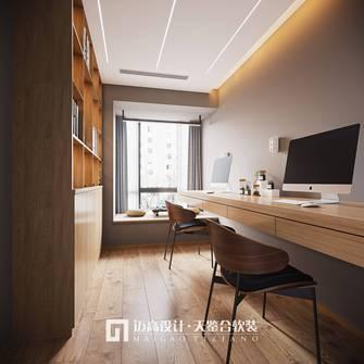 100平米三日式风格书房装修案例