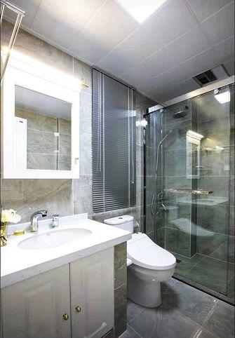 富裕型90平米三室两厅法式风格卫生间装修图片大全