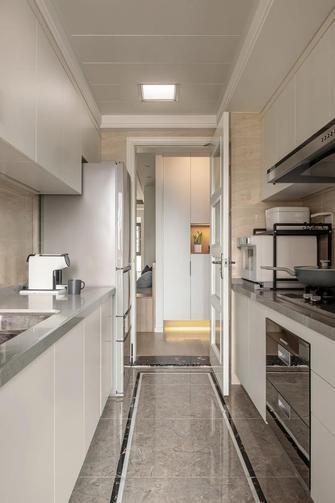 5-10万90平米三室两厅日式风格厨房设计图