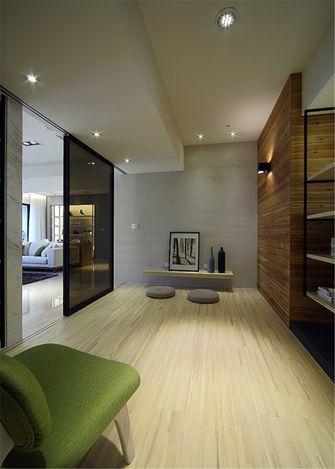 富裕型80平米三室一厅日式风格书房装修案例