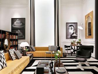 富裕型130平米四室两厅美式风格客厅欣赏图
