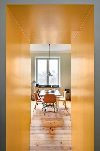 20万以上60平米公寓美式风格餐厅欣赏图