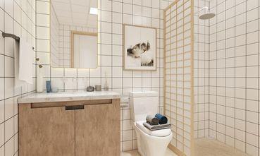 富裕型120平米三室两厅日式风格卫生间图