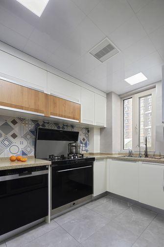 富裕型120平米三室一厅混搭风格厨房图