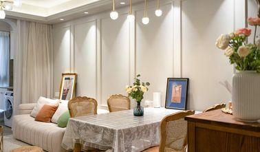 富裕型100平米三室一厅欧式风格餐厅图片