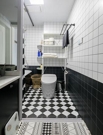 富裕型70平米三现代简约风格卫生间图片