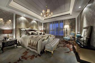 富裕型120平米三法式风格卧室图片