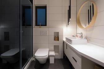 10-15万130平米四室两厅现代简约风格卫生间装修图片大全