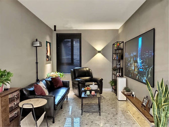 10-15万80平米北欧风格客厅装修效果图