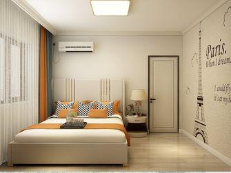富裕型120平米三室一厅现代简约风格卧室图片
